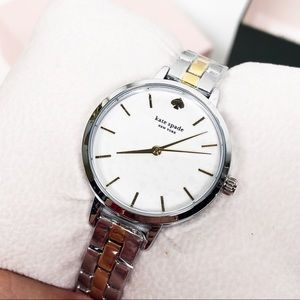 Kate Spade Silver & Gold Metro Watch